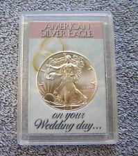 2018 American Eagle Silver Dollar & Wedding Day Case #1