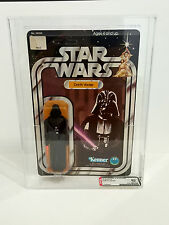 STAR WARS - Darth Vader 12 BACK A - AFA Graded 80 - Unpunched Card - Vintage MOC