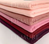 Hijab Scarf Wrap Soft Premium Quality Cotton Blend Elegant Maxi Shawl Sarong