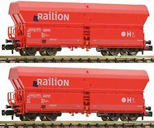 Fleischmann N 852317 Set 2 Self Discharge Loading Horizontal Falns DB Railion