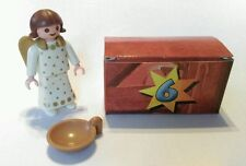 REPLACEMENT 2004 PLAYMOBIL Christmas Advent Calender 4151 BOX #6  ANGEL w/ dish