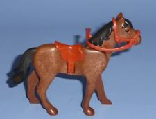 Playmobil Horse with Saddle Bridle & Reins  for rider farm stable  - Animal