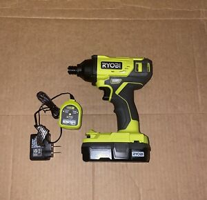 Ryobi One+ P235 Impact Driver Kit with Battery and Charger New