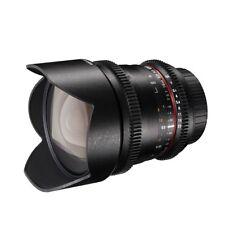walimex pro 10/3,1 VDSLR Superweitwinkel Objektiv für Canon EF-S schwarz