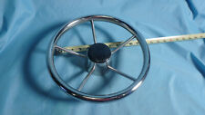 "Sea-Dog 11"" Stainless Steering Wheel - 5 Spokes 230211 USED"