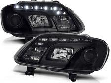 VW CADDY / TOURAN 2003 2004 2005 2006 LPVWC4 FARI ANTERIORI LED NERO
