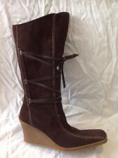 Toucan Suede Ladies Boot Taupe Size 37 Riva tcrr8