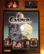 ALBUM DE CROMOS CASPER + 165 CROMOS A PEGAR ¡¡¡COLECCIÓN COMPLETA!!! PANINI 1995