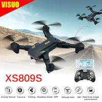 VISUO XS809S Battles Sharks Wifi FPV RC Quadcopter With Wide Angle Camera Drone