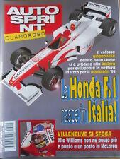 AUTOSPRINT n°19 1998 Williams Jacques Villeneuve - Analisi Ferrari   [P72]