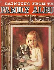 """PAINTING FROM THE FAMILY ALBUM - Runci (Walter Foster """"How To Draw"""" Book) # 144"""