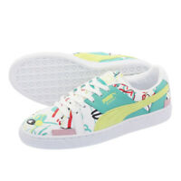 PUMA Womens Trainers Basket Shantell Martin Graffiti Graphic Ladies White Shoes