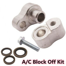 Aluminum Billet A/C Block Off Kit For Rear Air In 00-2013 Chevrolet Suburban GMC