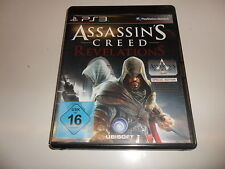 PLAYSTATION 3 PS 3 ASSASSIN 'S CREED REVELATIONS SPECIAL EDITION