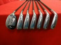 MIZUNO MX-950 4-PW Hybrid Iron Set RH Exsar IS2 Regular Flex Graphite +1/2""