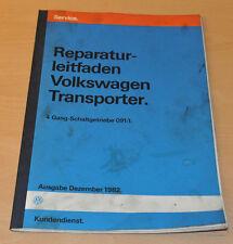 VW Transporter T3 4 Gang Schaltgetriebe 091 Werkstatthandbuch Reparaturleitfaden