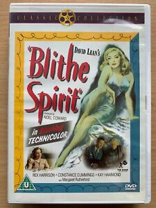 Blithe Spirit DVD 1945 British Classic with Rex Harrison and Margaret Rutherford