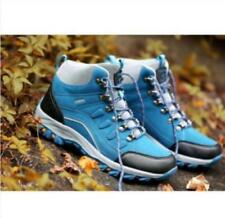 New women's High Top Boot Shoes Lace Up Outdoors Hiking Waterproof Non-slip