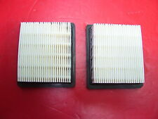 LOT OF (2)- New Tecumseh Replacement Air Filter- 36046 740061 Craftsman 33325 :