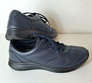 Hotter Lexi Blue Leather Women's Comfort Concept Shoes Size: 5.5 (UK) 38.5 (EUR)