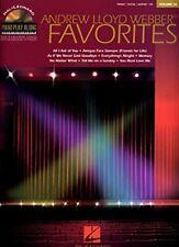 Piano Play-Along Volume 26 Andrew Lloyd Favorites Music Book/Cd-Piano/V/Guitar