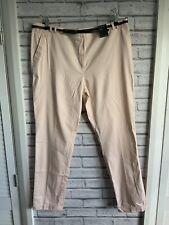 Atmosphere Uk 16 Ladies Skinny Peach Trousers With Belt