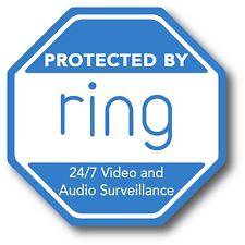 "Ring Doorbell Sticker Video Security Camera Yard Sign Sticker Outdoor Safe 3.75"""