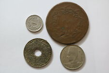 ARAB STATES & MUSLIM LOT OF 4 COINS A93 RZM7