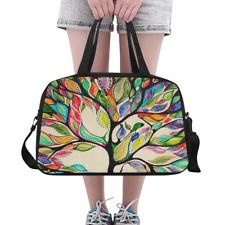 Fashion Custom Duffle Overnight Bag Tree of Life Weekender Travel Bag for Women