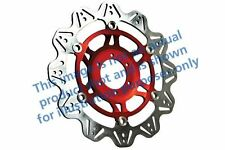 Ajuste HONDA CBR 600 RR5/RR6 (Radial Cal 05 > 06 EBC VR de disco de freno rojo HUB Frontal Izquierdo