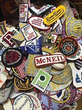 Vintage Patch Lot 50 patches nasa,automotive,Advertisement,Sports,Military Rare