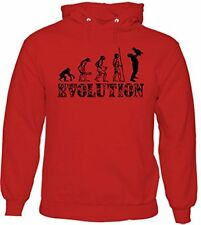 Father And Son Evolution - Mens Funny Hoodie Father's Day Dad Daddy Papa Pops