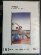 Preloved Dvd Pilates Gymball Workout Train Fit Gym Muscle Strenght Home Gym Diy