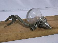 Antique Glass Ball Liquid Soap Dispenser WATROUS disinfecting Vintage #5 School