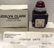 Joslyn Clark 100T-PLF1R Pilot Light LOT OF 3