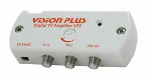 STATUS VISION PLUS VP2 TV AERIAL ANTENNA SIGNAL AMPLIFIER WIDEBAND BOOSTER