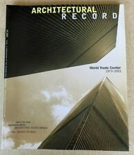 Architectural Record Magazine October 2001