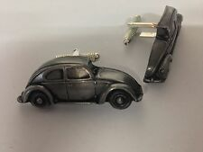 VW Beetle (Split Arrière S 3D Boutons de manchette Classique Voiture Étain Effet Boutons De Manchette ref289