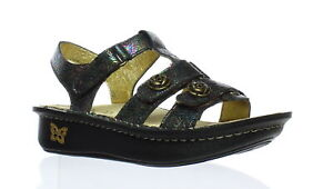 Alegria Womens Kleo Abalone Rose Ankle Strap Sandals EUR 35