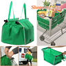 Grocery Shopping Bag Supermarket Reusable Eco-friendly Folding Tote Bags Pouch