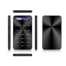 "Ultradünn 1,68"" Mini GSM Karte Mobile Handy Bluetooth Unlocked Kartentelefon MP3"