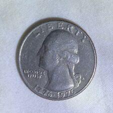 bicentennial quarter D 1776-1976 circulated Denver mint free shipping