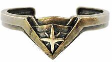 Wonder Woman Antique Brass Tiara Cuff Bracelet