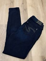 Silver Suki High Super Skinny Women's Stretchy Jeans ACTUAL SIZE ~ 29X29.5 ~MINT