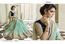 Bollywood Saree Party Wear Indian Pakistani Ethnic Designer Sari Wedding SareeHI