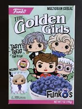FUNKO THE GOLDEN GIRLS CEREAL BOX SEALED WITH POCKET POP EXCLUSIVE INSIDE