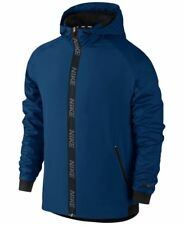 Men's Nike Dri-Fit Hooded Training Jacket NEW Blue , MSRP $90