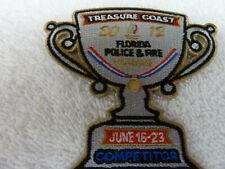 TREASURE COAST FLORIDA POLICE & FIRE GAMES 2012 Competitor Patch