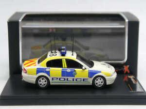 Premium X 1:43 Jaguar X-Type Merseyside Police White 2004 PR0343
