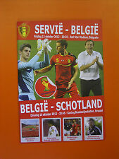 FIFA World Cup Qualifier - Serbia v Belgium - 12th October 2012